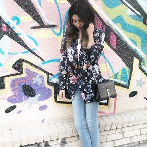 Floral blazer H&M